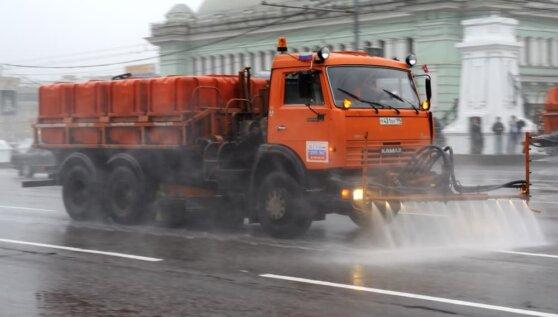 В Москве дороги после зимы помоют специальным шампунем
