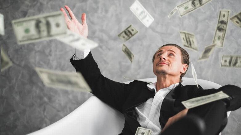 Богатый, доллары, миллионер, миллиардер