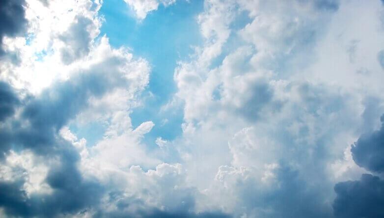 Погода, небо, тучи, облака, солнце