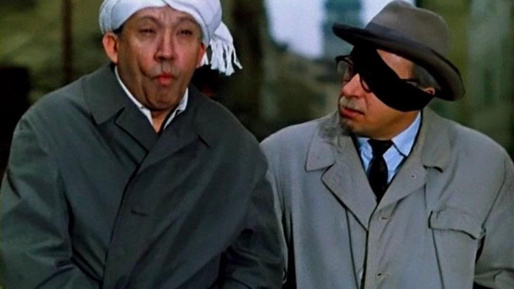 """Кадр из фильма """"Старики-разбойники"""""""
