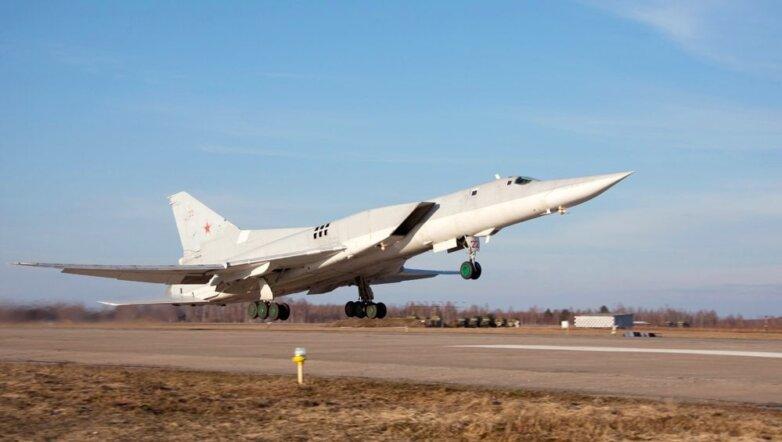 Сверхзвуковой ракетоносец-бомбардировщик с крылом изменяемой стреловидности Ту-22М3