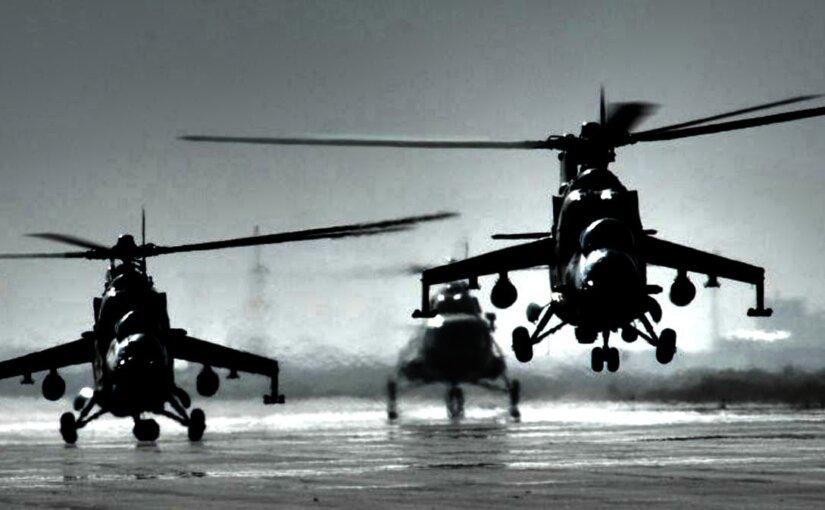 На видео попала новейшая версия ударного Ми-28НМ