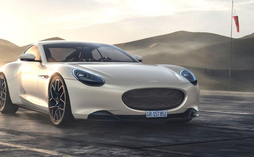 Стартап Piëch Automotive представил электрический спорткар со сверхбыстрой зарядкой