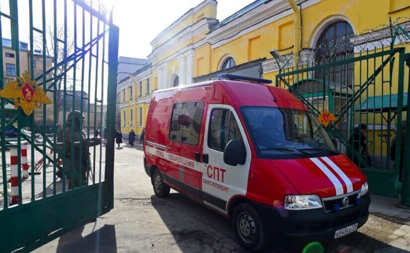 СК возбудил дело после взрыва в петербургской военной академии