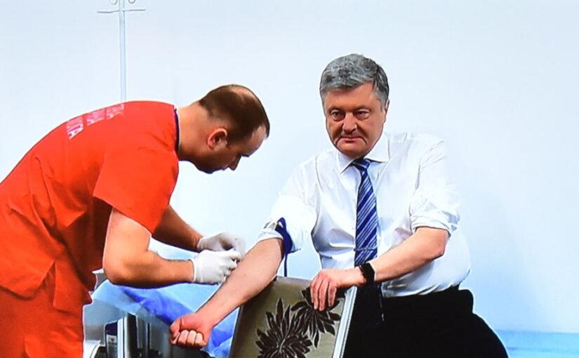 Пётр Порошенко опроверг слухи об алкогольной зависимости