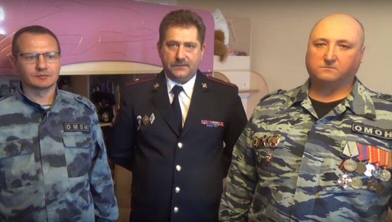 Обращение ветеранов ОМОН к Путину