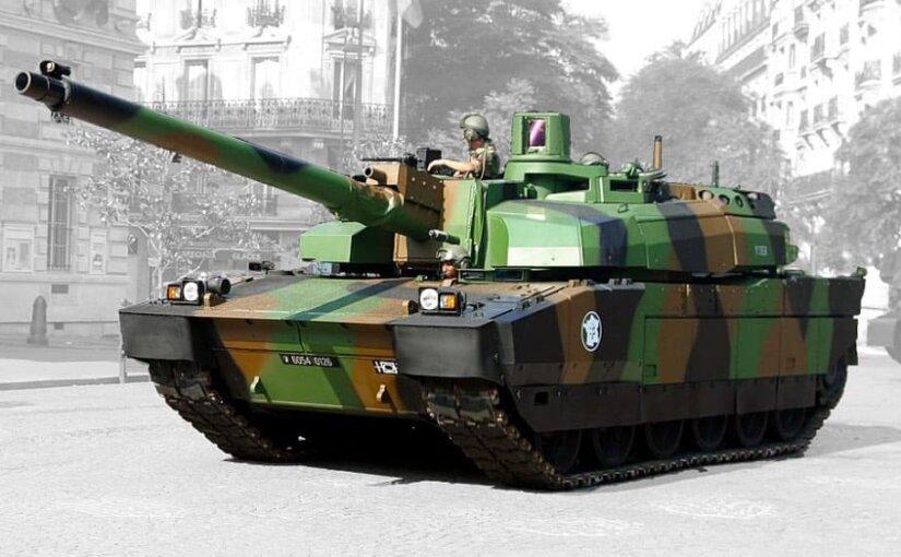 Франция направила танки к границе России