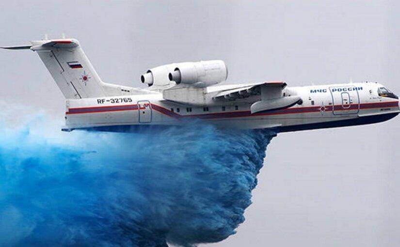 Российские двигатели для самолета-амфибии Бе-200 заменят украинские