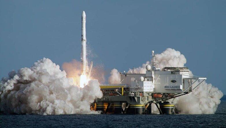 НаДальний Восток изКалифорнии могут перебросить плавучий космодром «Морской старт»