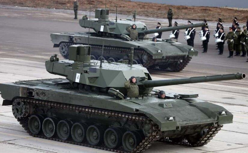 В США танк Т-14 «Армата» признали лучшим в мире