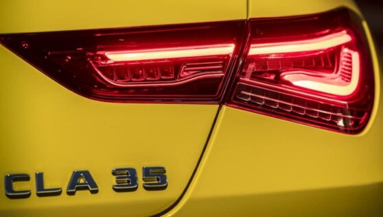 Появилось первое фото «заряженного» Mercedes-AMG CLA 35