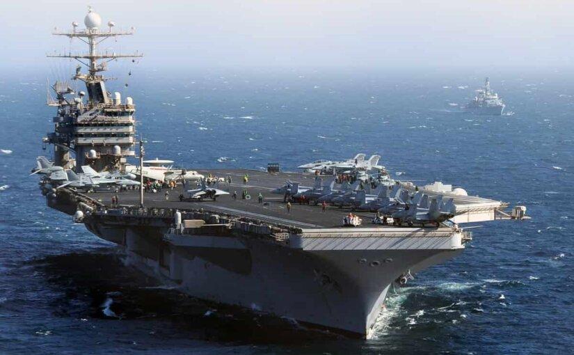 Авианосец «Авраам Линкольн» ВМС США движется в направлении Черного моря