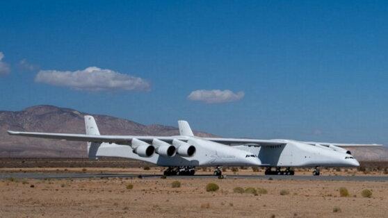 В Сети появилось видео первого полета самого большого самолета в мире