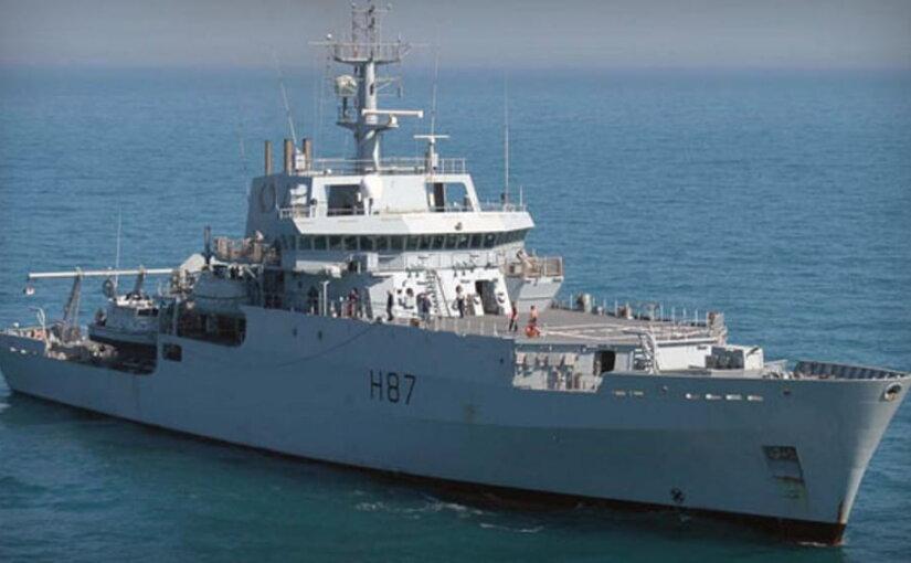 Британский корабль-разведчик появился в акватории Черного моря