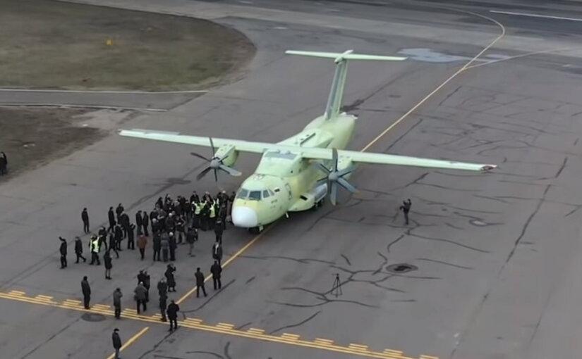 Первый полёт нового Ил-112В попал на видео