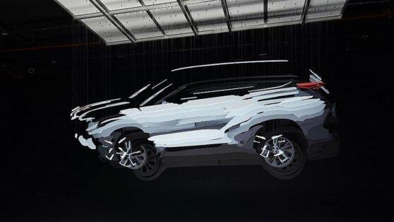 Вышел тизер нового кроссовера Toyota Highlander
