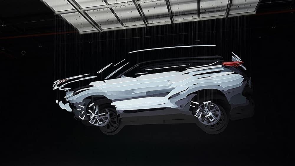 Тизер нового Toyota Highlander