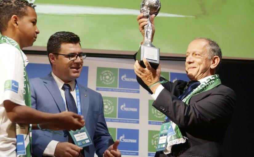Кубок «Девяти ценностей» получила национальная сборная Бразилии по футболу