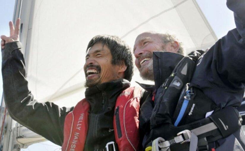 Незрячий житель Японии на яхте пересек Тихий океан
