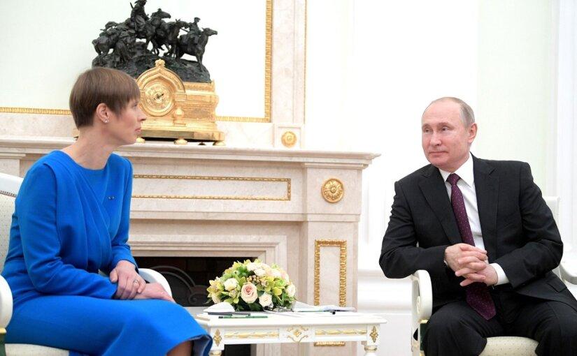 Путин счел ненормальным отсутствие контактов с руководством Эстонии
