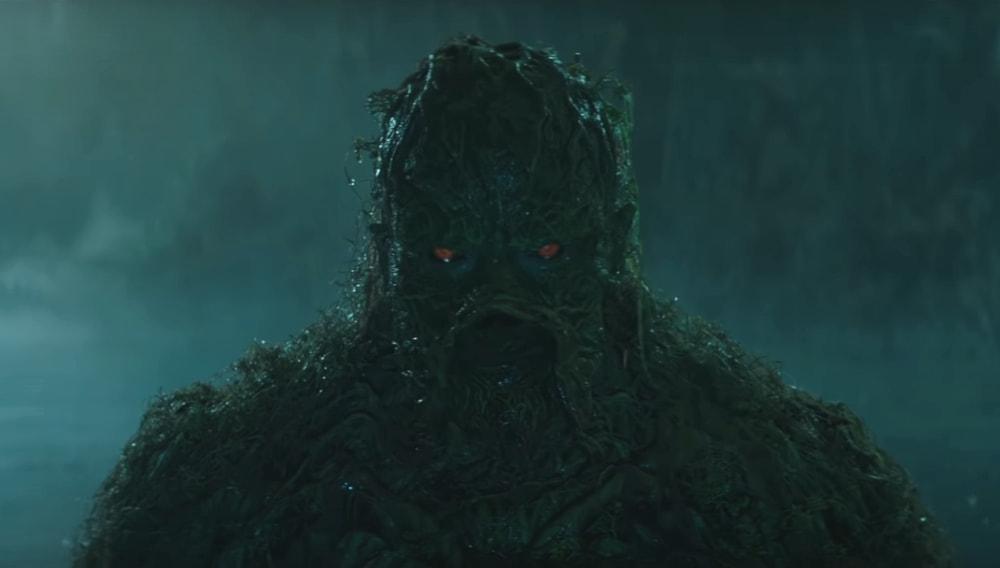 Кадр из фильма «Болотная тварь»