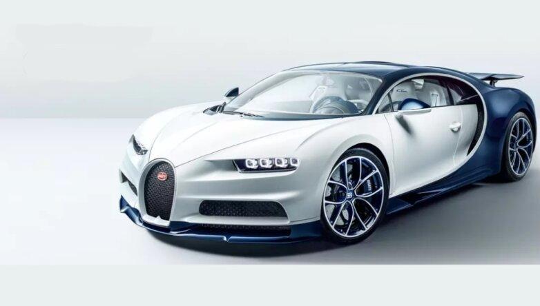 Bugatti Chiron, машина, автомобиль