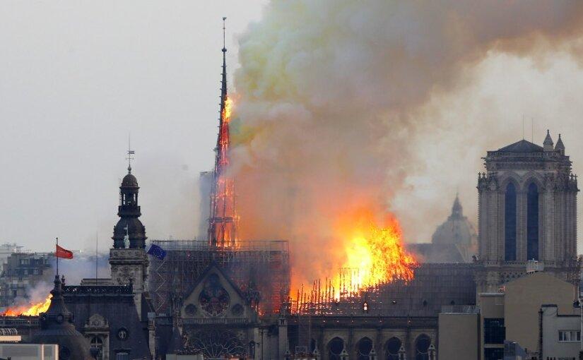 Эксперты установили основную причину пожара в соборе Парижской Богоматери