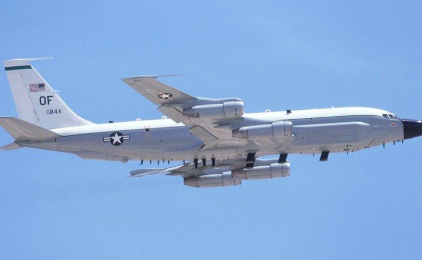 У берегов Крыма засекли самолет-разведчик ВВС США