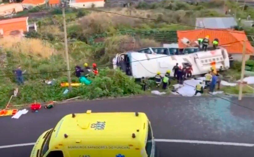 В Португалии в ДТП с туристическим автобусом погибли 28 человек