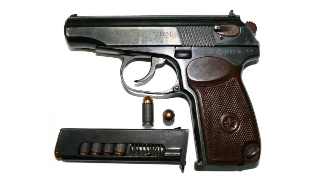 9 мм пистолет Макарова (ПМ)