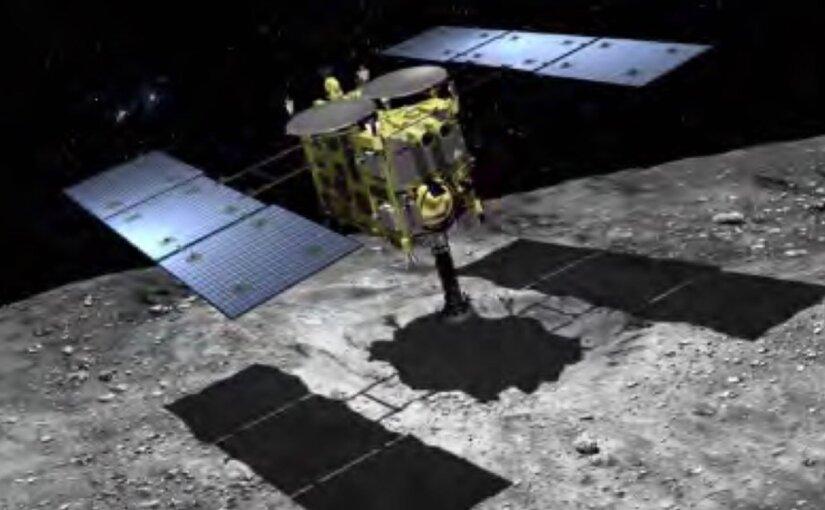 Японский зонд «Хаябуса-2» успешно провел взрыв на астероиде