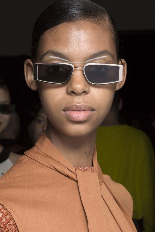 очки с двойным мостом Self Portrait