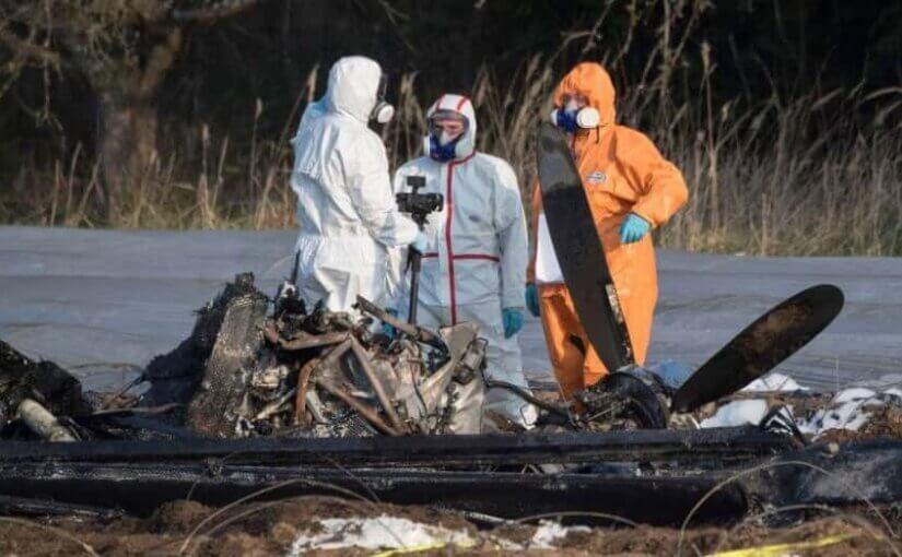 Опубликовано видео с места авиакатастрофы, в которой погибла совладелица S7