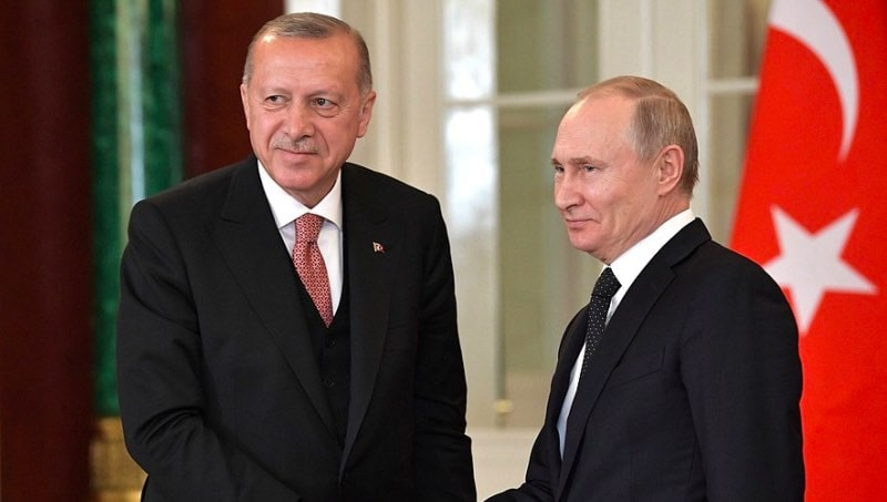 Эрдоган назвал тему предстоящих переговоров с Путиным