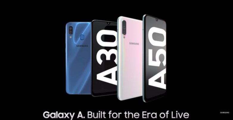 Линейка смартфонов Samsung A