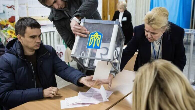 Подсчёт голосов, голосование, выборы, Украина