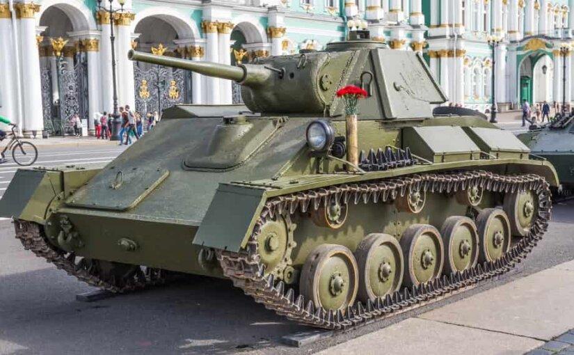 Редкий советский танк Т-70В, найденный в Белоруссии, показали на видео
