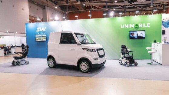 На автосалоне в Санкт-Петербурге презентовали «инвалидку» будущего