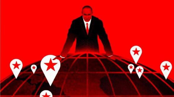 Журнал Time разместил на обложке фото Путина, опирающегося на земной шар