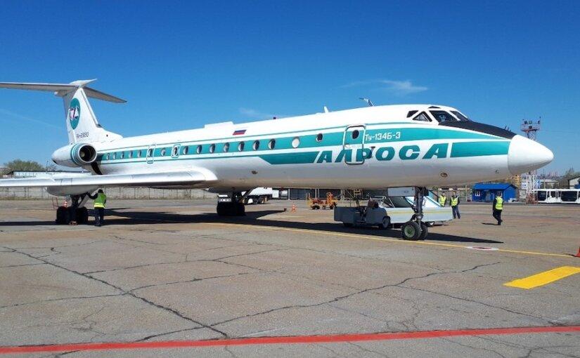 Самолёт Ту-134 выполнил последний пассажирский рейс в России