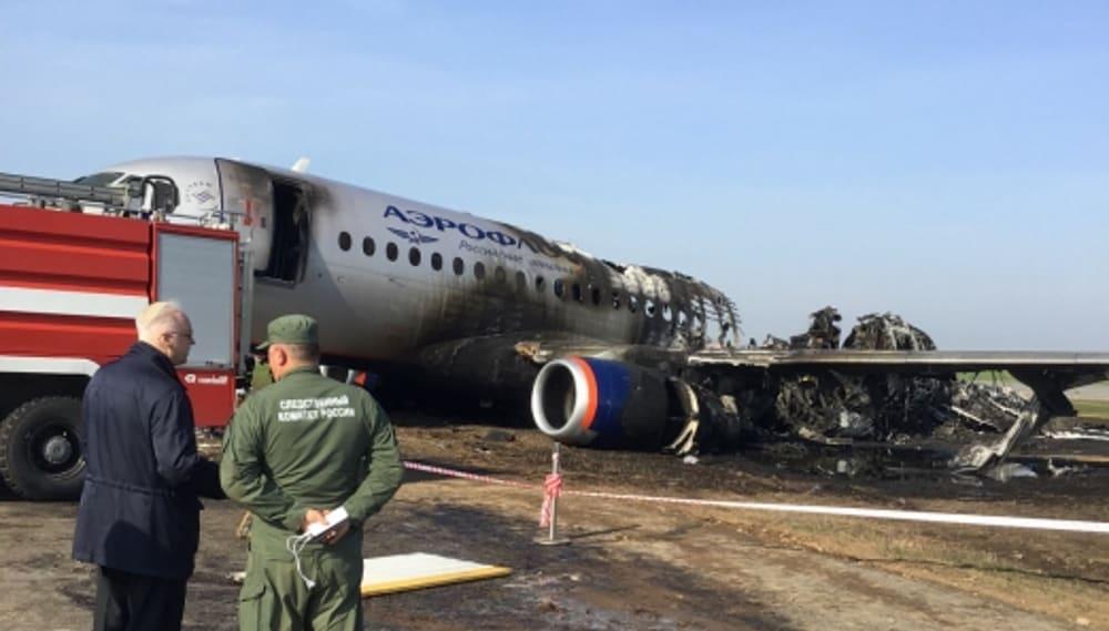 Катастрофа самолёта Sukhoi Superjet 100