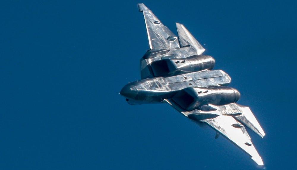 Истребитель Су-57, самолёт, армия, ВВС, ВКС