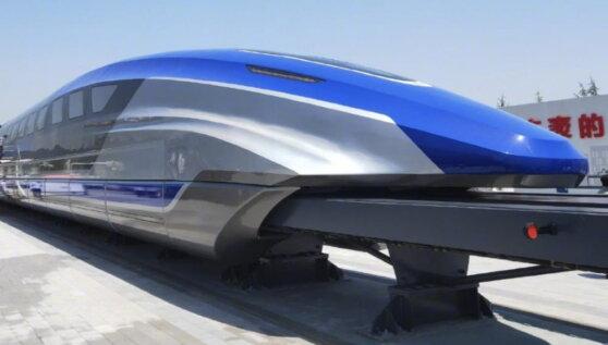 В Китае показали прототип движущегося со скоростью 600 км/час маглева