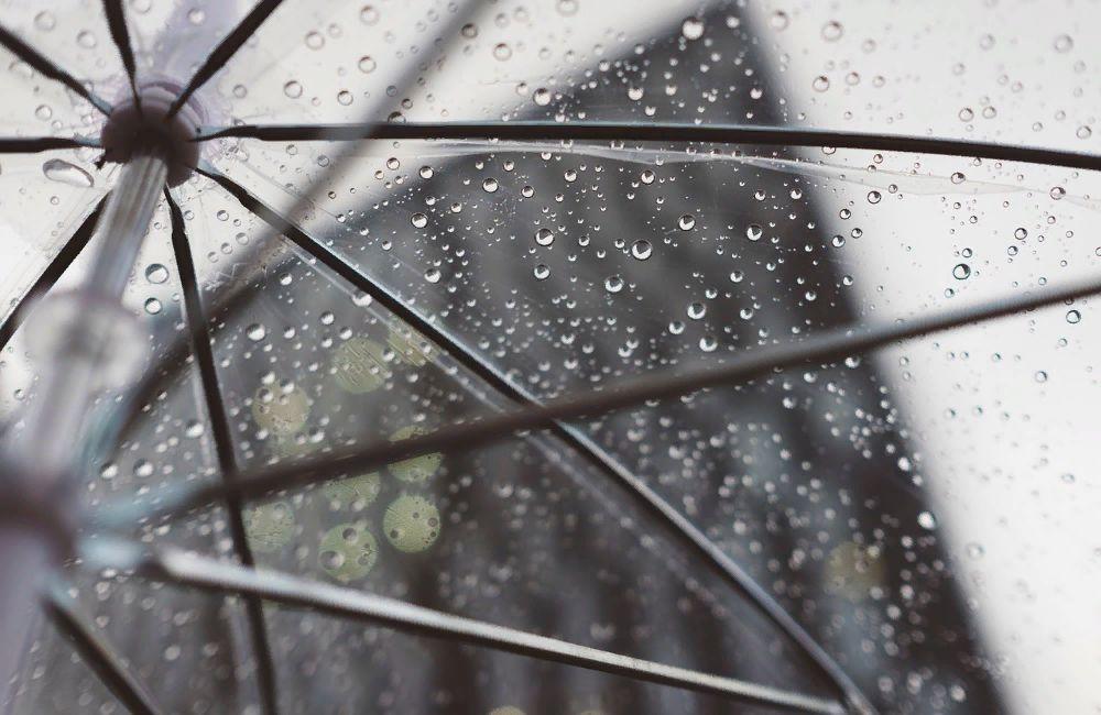 дождь, зонт, плохая погода