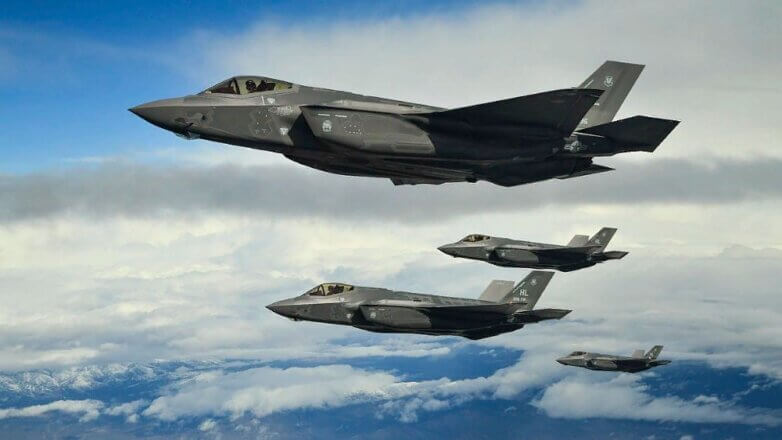 Истребитель F-35А ВВС США