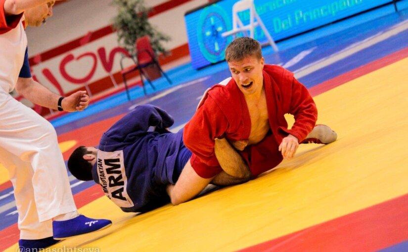 Самбисты УГМК привезли из Испании две медали