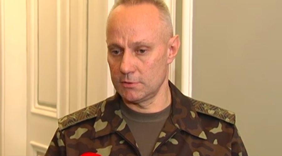 Руслан Хомчак, украинский военачальник