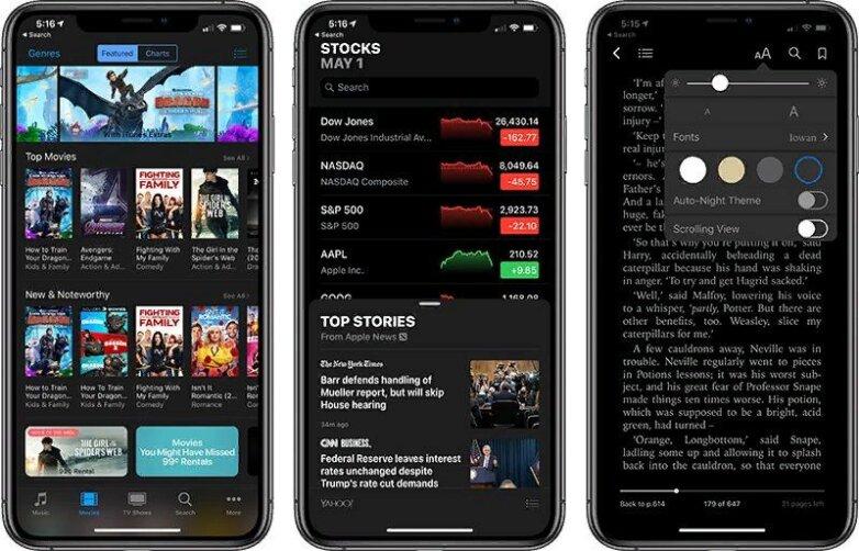 Операционная система iOS 13