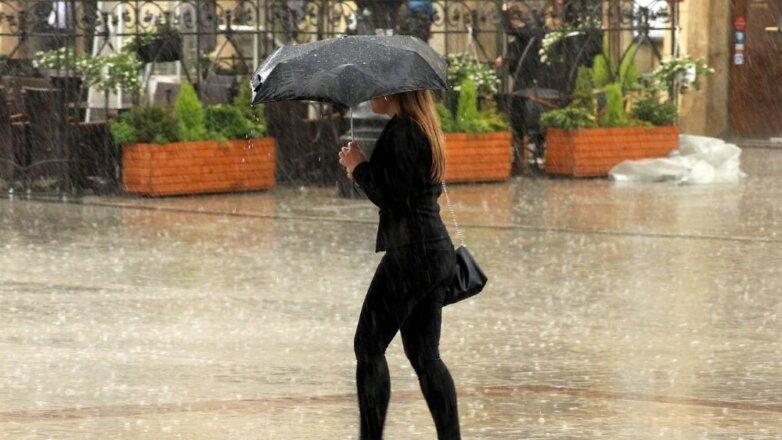 дождь, ливень, циклон