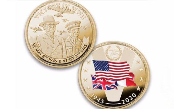 В США выпущена монета с союзниками во Второй мировой без СССР